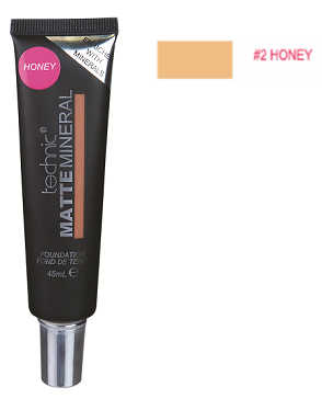 Technic Matte Mineral Foundation Honey