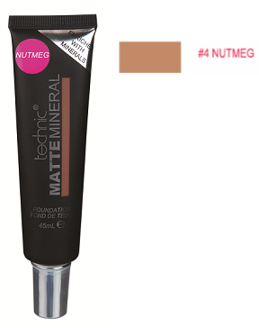 Technic Matte Mineral Foundation Nutmeg