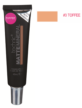 Technic Matte Mineral Foundation Toffee