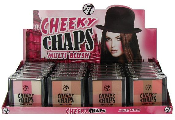 W7 Cheeky Chaps Multi Blush 1x24