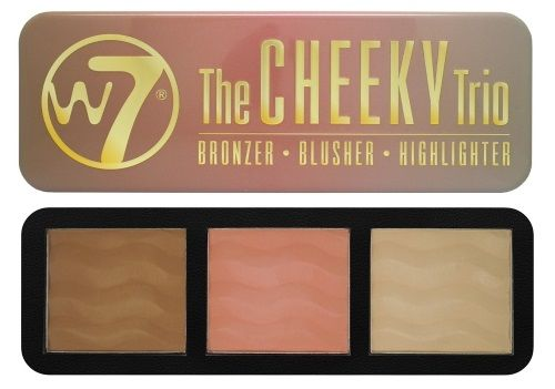 W7 Cheeky Trio Blusher Palette