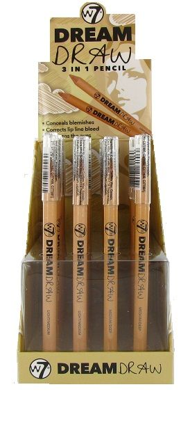 W7 Dream Draw 3 In 1 Concealer Pencil 1x24