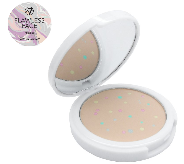 W7 Flawless Face Pressed Colour Correcting Mineral Powder
