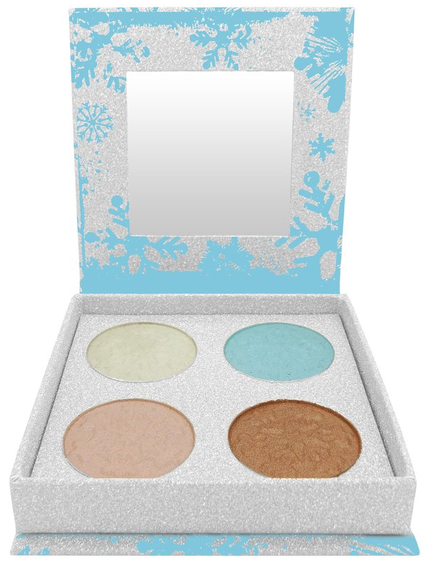 W7 Frosted Festive Icy Shimmers Palette