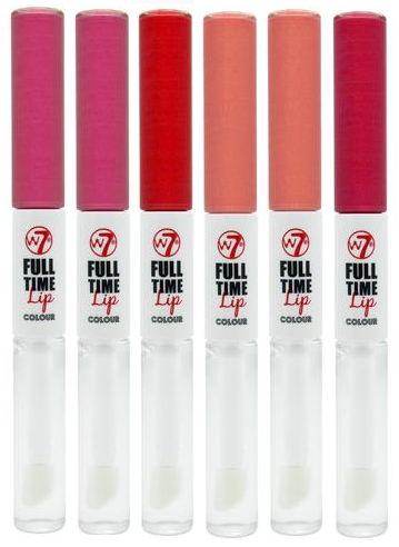 W7 Full Time 24 Hour Lip Colour 1x6