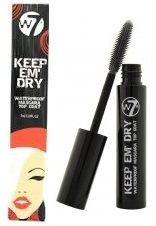 W7 Keep 'Em Dry Waterproof Topcoat Mascara