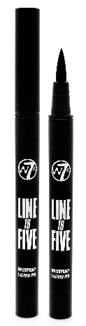 W7 Line To Five Waterproof Eyeliner Pen