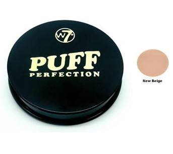 W7 Puff Perfection Compact Pressed Powder New Biege