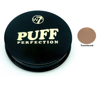 W7 Puff Perfection Compact Pressed Powder Translucent