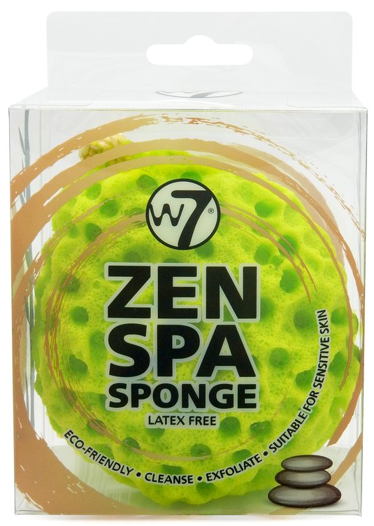 W7 Zen Spa Sponge Green