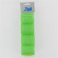 Zeal Green Self Grip Rollers 4 Pack