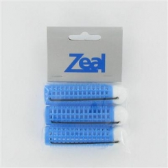 Zeal Large Blue Bobble Rollers 3 Pack