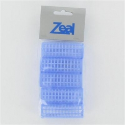 Zeal Large Blue Pin Rollers 5 Pack