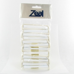 Zeal Perm Rods White