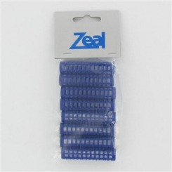 Zeal Small Blue Pin Rollers 8 Pack